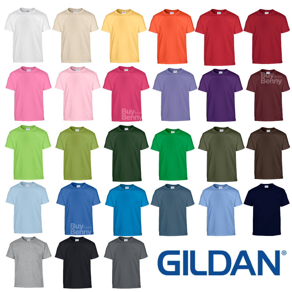 Cotton T-Shirts - Colours