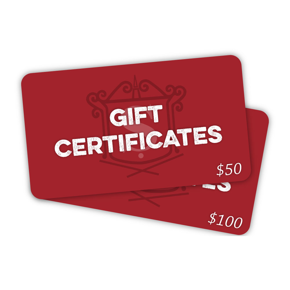 Gift Certificates 2
